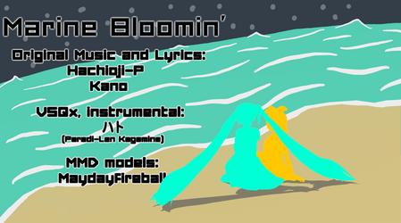 Marine Bloomin' Instrumental and VSQx dl by Paradi-Len-Kagamine