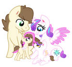 Pound Cake And Flurry Heart Family
