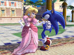 Sonic and Peach 4