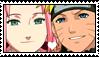 Narusaku stamp by migueruchan