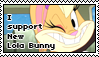 I support New Lola Bunny Stamp by migueruchan