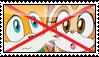 Anti TailsxCream stamp by migueruchan