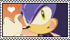 Sonic the hedgehog stamp by migueruchan
