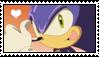 Sonic the hedgehog stamp by migueruchan