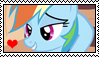 Rainbow Dash stamp by migueruchan