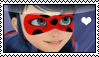 Miraculous Ladybug stamp by migueruchan
