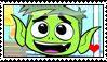 TTG - Beast Boy Stamp by migueruchan