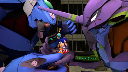 Sonic and the Evangelion