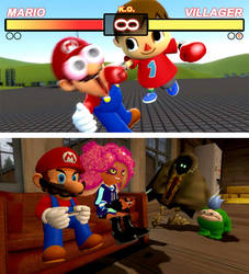 Mario the ultimate gamer