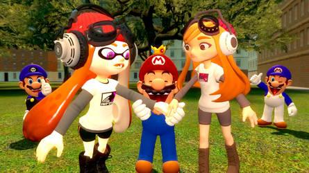 Mario the supreme leader