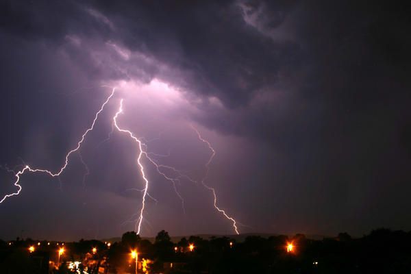 Lightning Storm by julie29