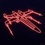 Star Wars Neon Lights X-Wing