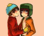 Cartman+Kyle