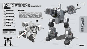 UX-12 Omniframe Pterois by CMG-simplestuff