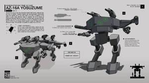 AZ-16A Yosuzume by CMG-simplestuff