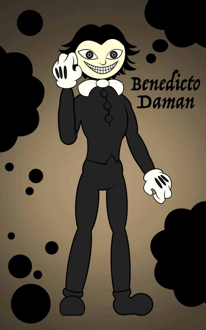 Bendy and the Ink Machine: human form - Bendy by MargozMidnight