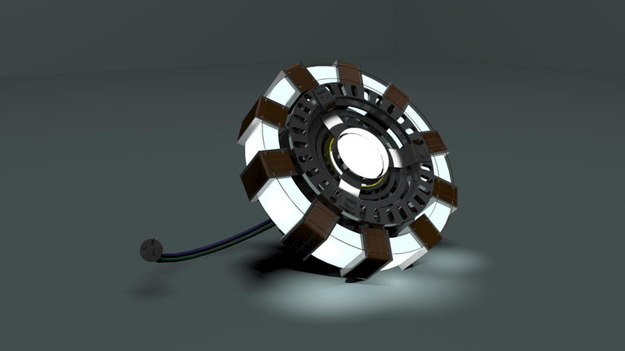 Tony Stark's Mark I Arc Reactor by Deviantapplestudios