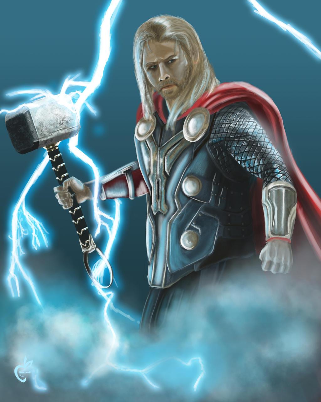 artwork gods lightning marvel - photo #32