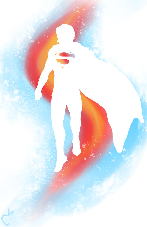 Superman Splat by Deviantapplestudios