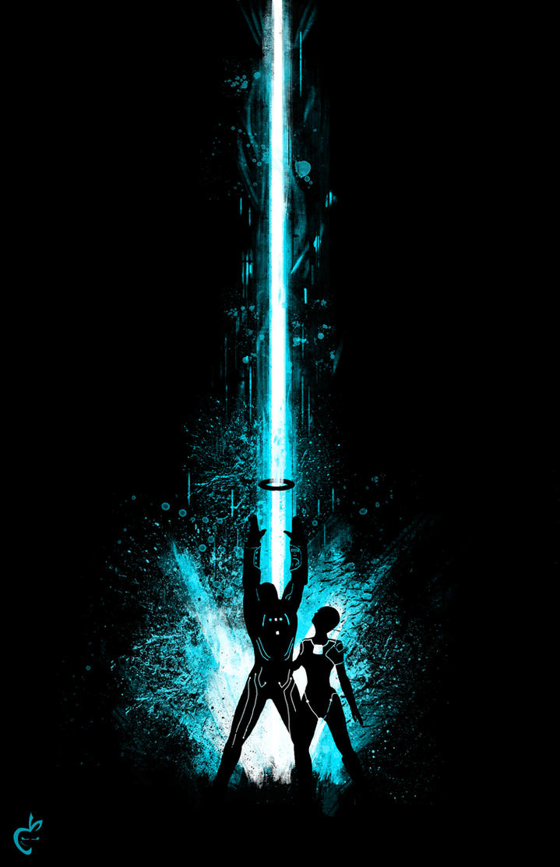 Tron Splat by Deviantapplestudios