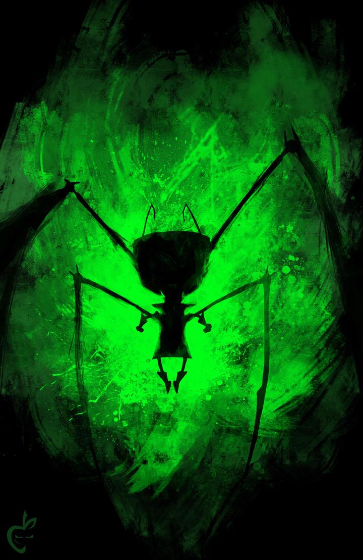 Invader SPLAT by Deviantapplestudios