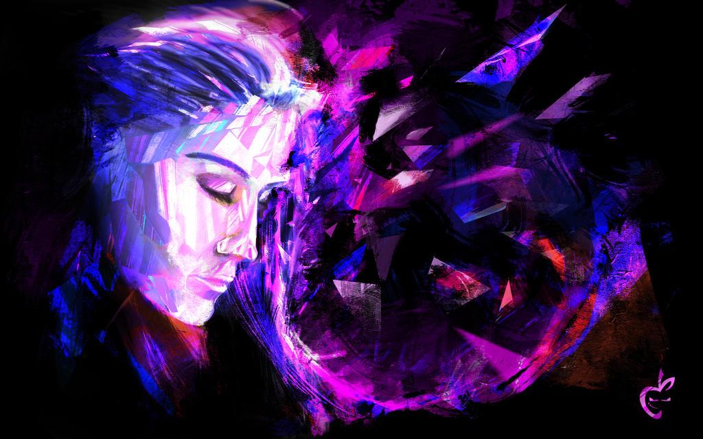 Glass Girl by Deviantapplestudios