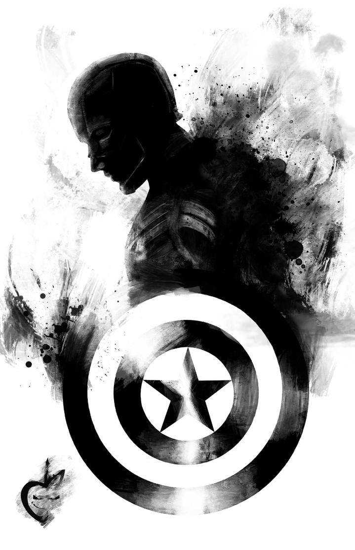 Captain America by Deviantapplestudios