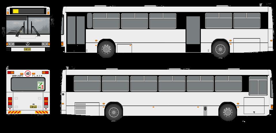 bus template by belldandy1 stock on deviantart