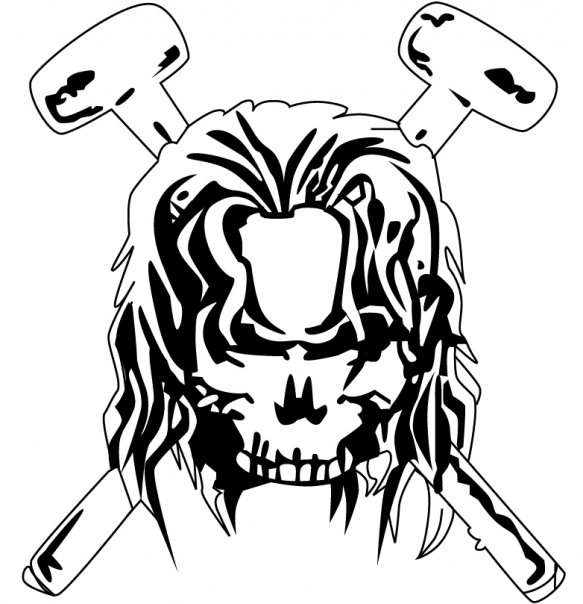 Triple H Skull by kristy4life on DeviantArt