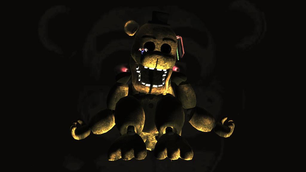 Golden Freddy Version of me Minecraft Skin