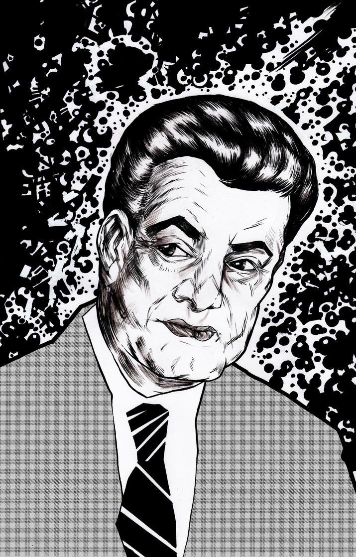 Jack Kirby  by oddly1