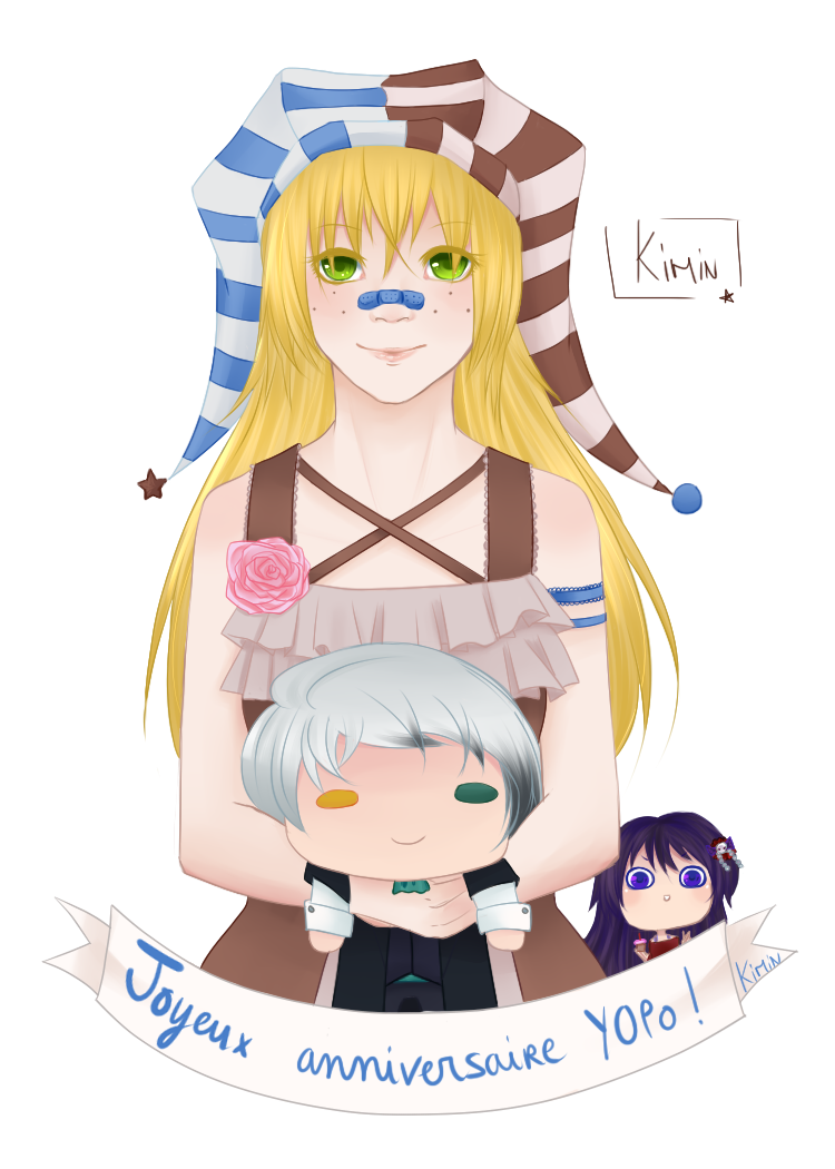 Joyeux anniversaire Y0PO !! by LostKimin