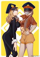 shiketsu's power couple by Celebae