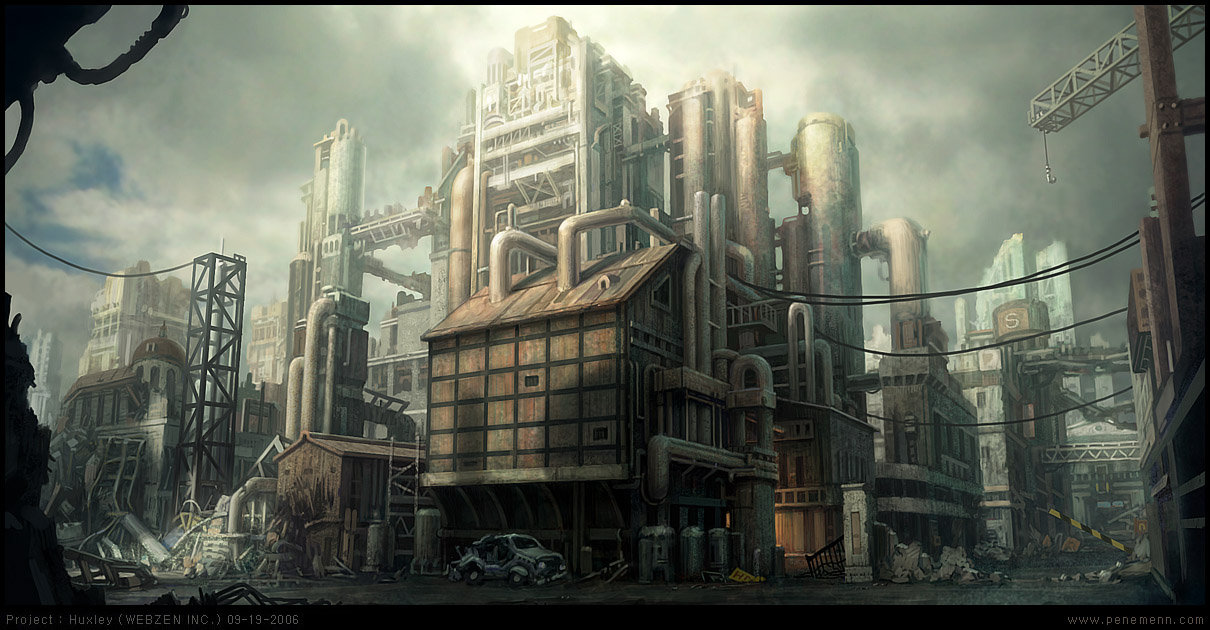 Factory Building by penemenn