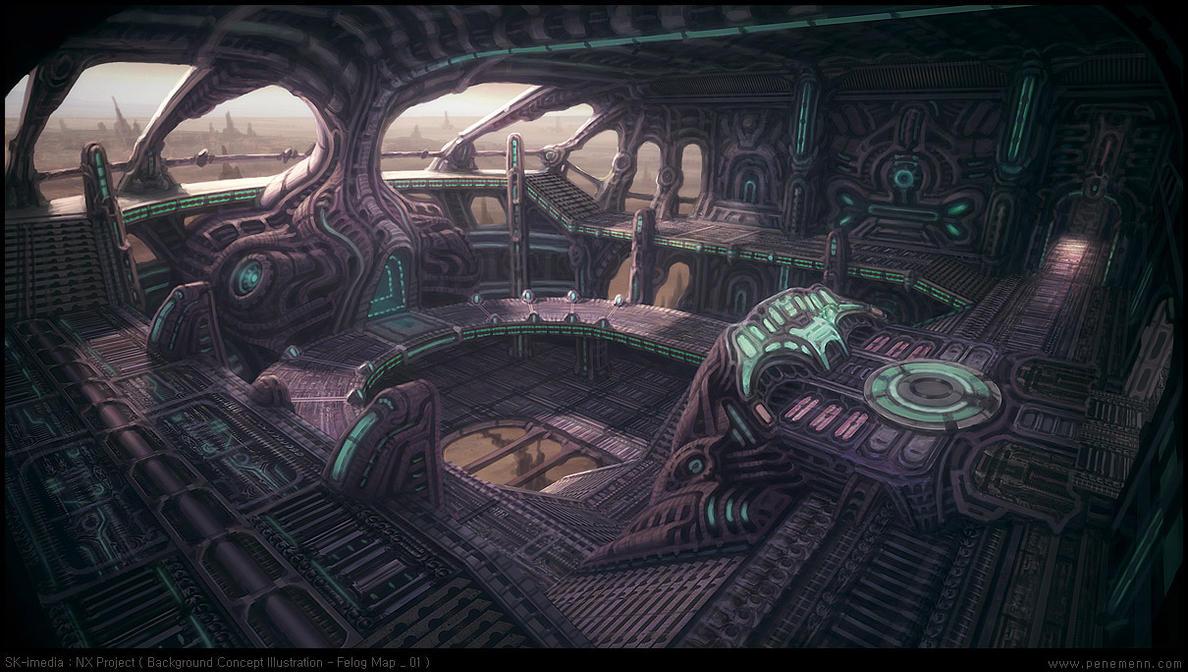 Alien Spaceship By Penemenn On Deviantart