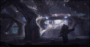 Alien Ship Interior