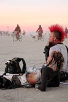 Burning Man: Punk With a Flute by NaturePunk