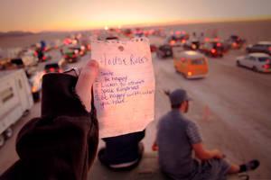 Burning Man: House Rules by NaturePunk