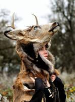 Deer Skin Headdress