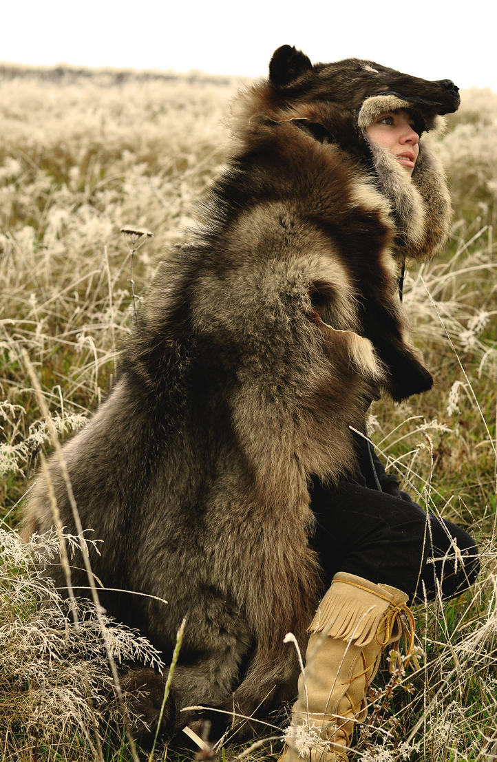 The Guardian Wolf Headdress By Naturepunk On Deviantart