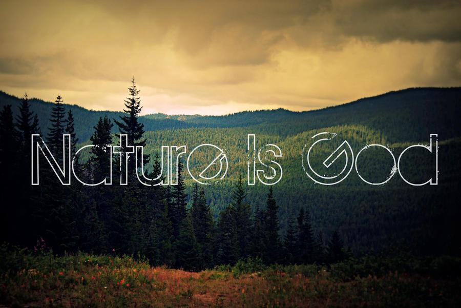 god nature naturepunk deviantart quote