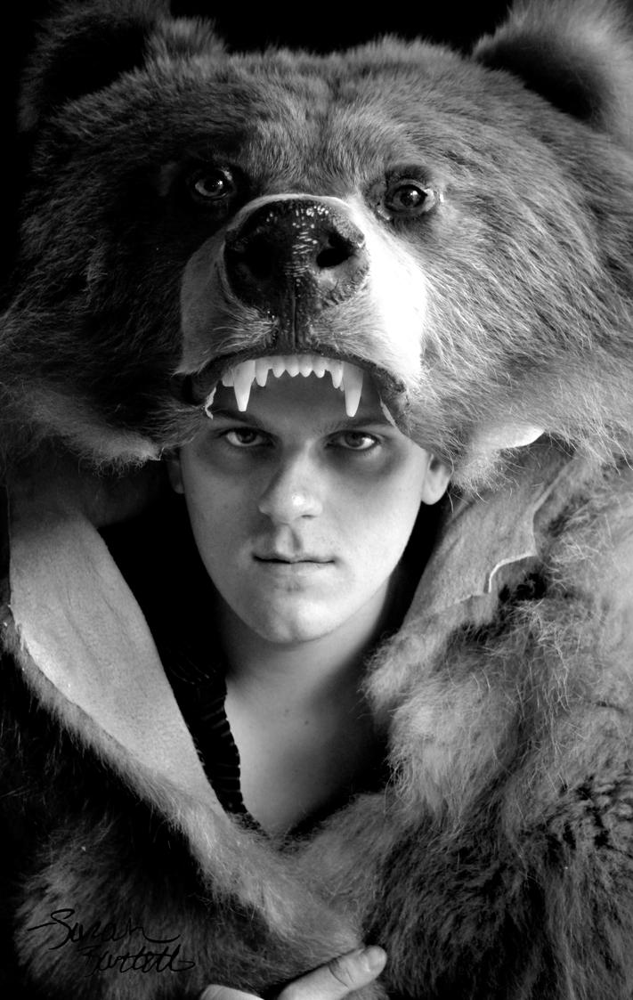 Bear headdress drawing - photo#4