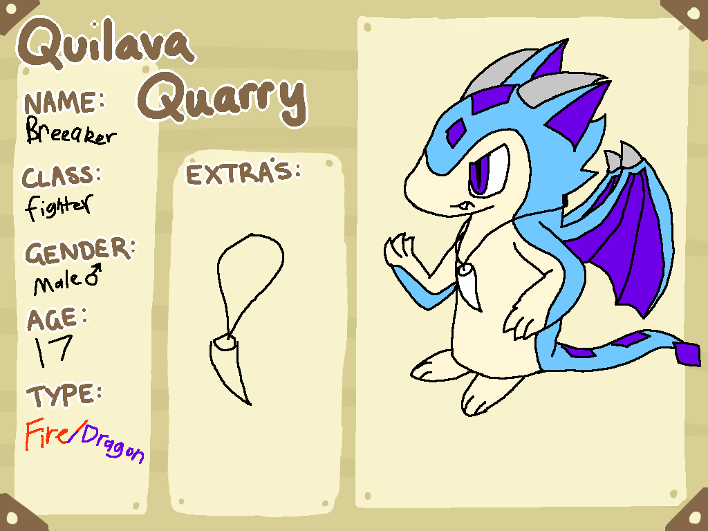 Quilava-Quarry app: Breeaker by piplup40