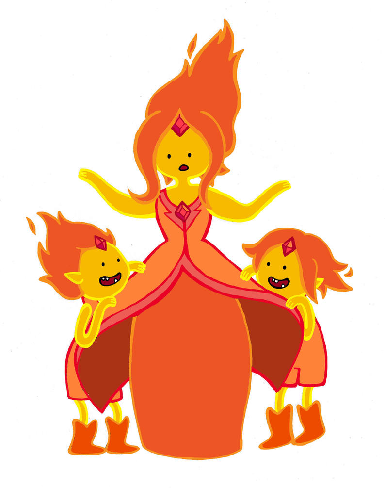 Flame Princess And The Flame Princes By Kickmeplease On