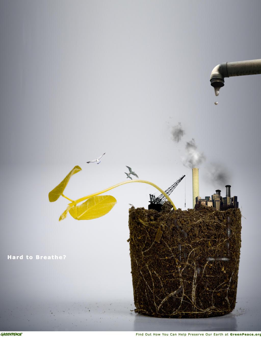 greenpeace anti pollution ad by flipn7 on deviantart. Black Bedroom Furniture Sets. Home Design Ideas