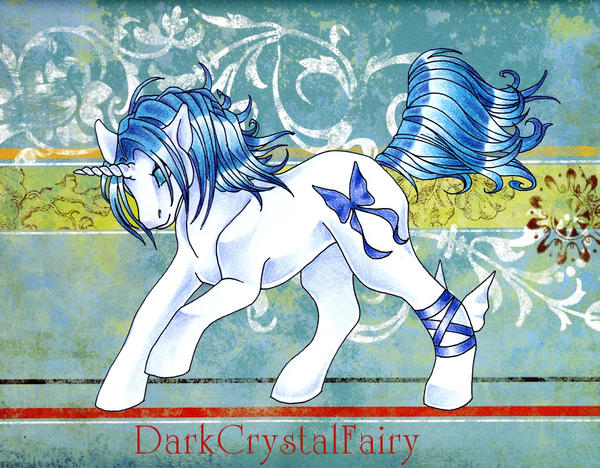 DarkCrystalFairy as a Pony by DarkCrystalFairy