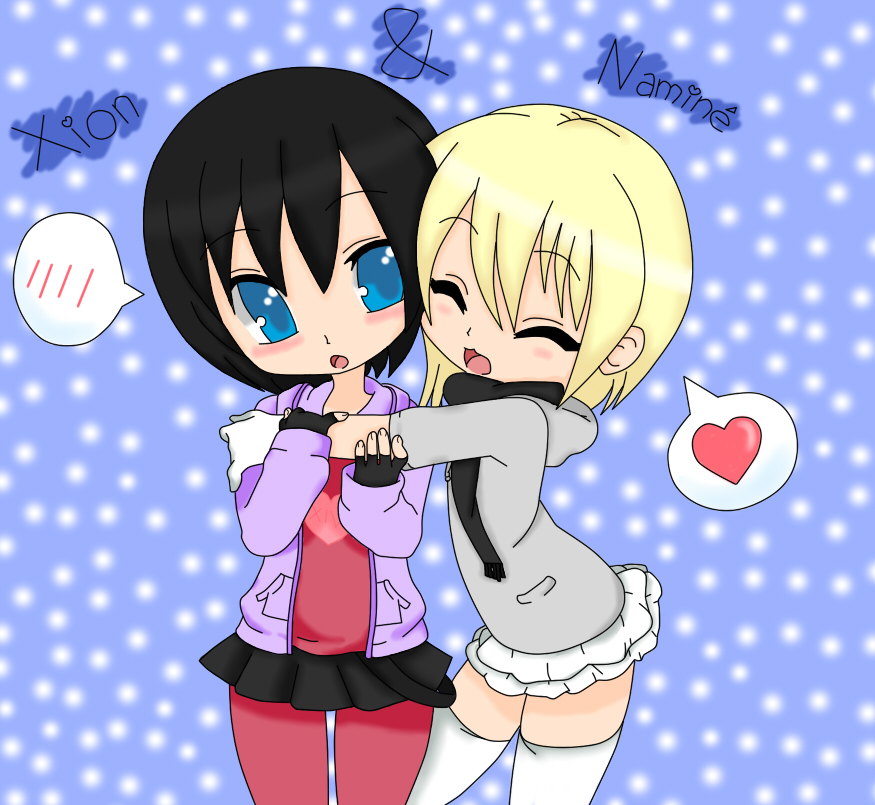 Xion x Namine by Xion0819Xion And Namine