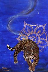 Galaxy Jaguar by ArtimeiaArt
