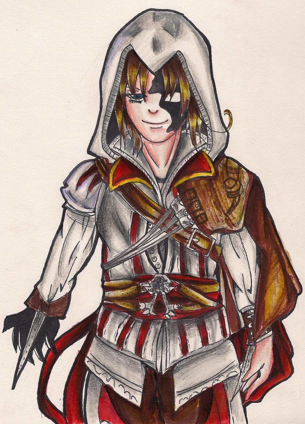 Dreamtalia shawdow italy the assassin by Itacat