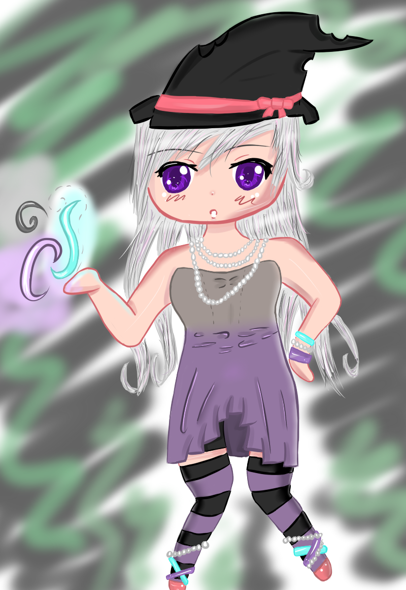 Spark Chibi by HoneyMochaCat